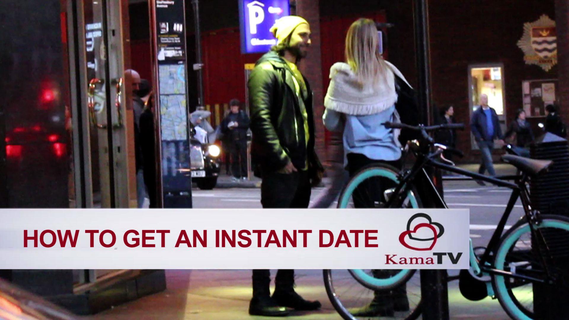 how to get instant dates online