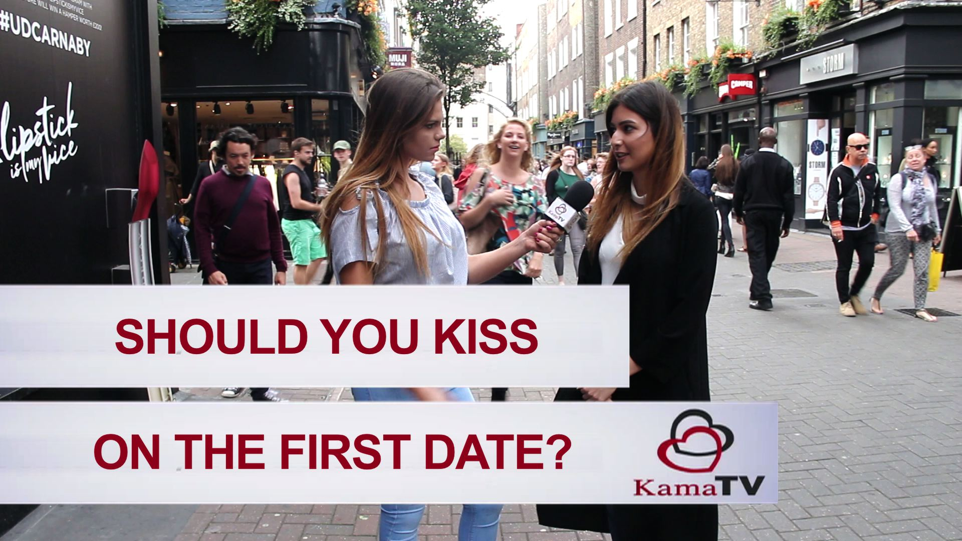 do you kiss on the first date