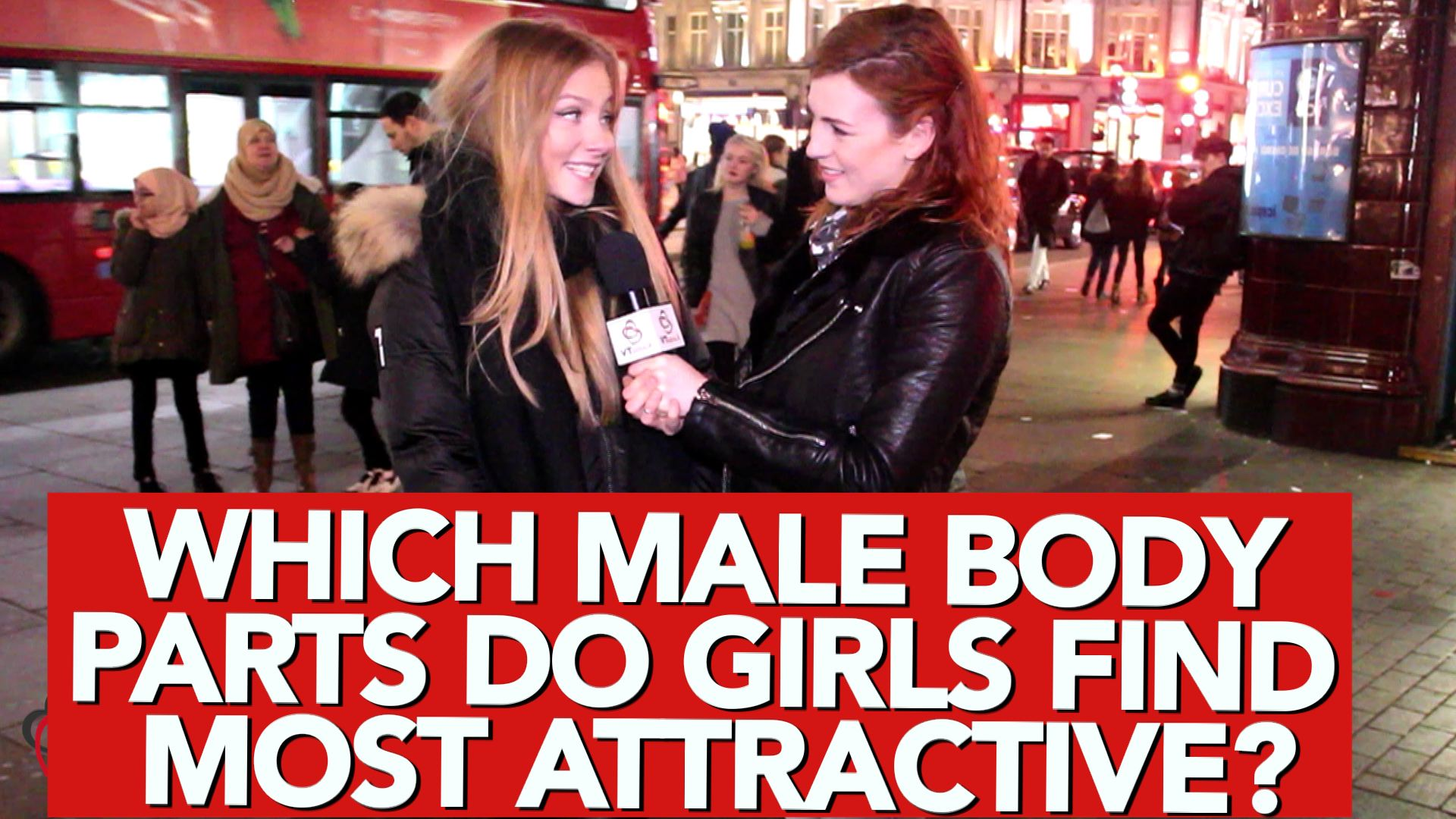 Which male body parts do girls find most attractive
