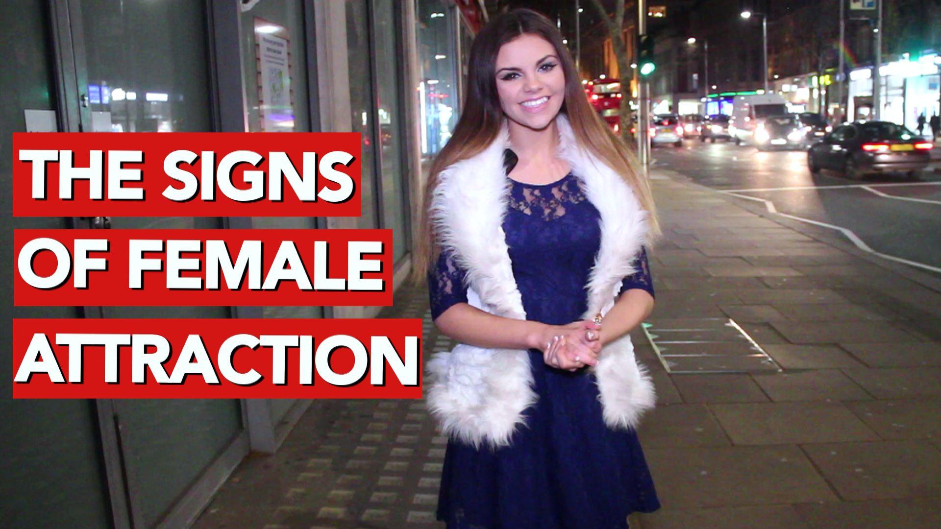 Male female attraction signals